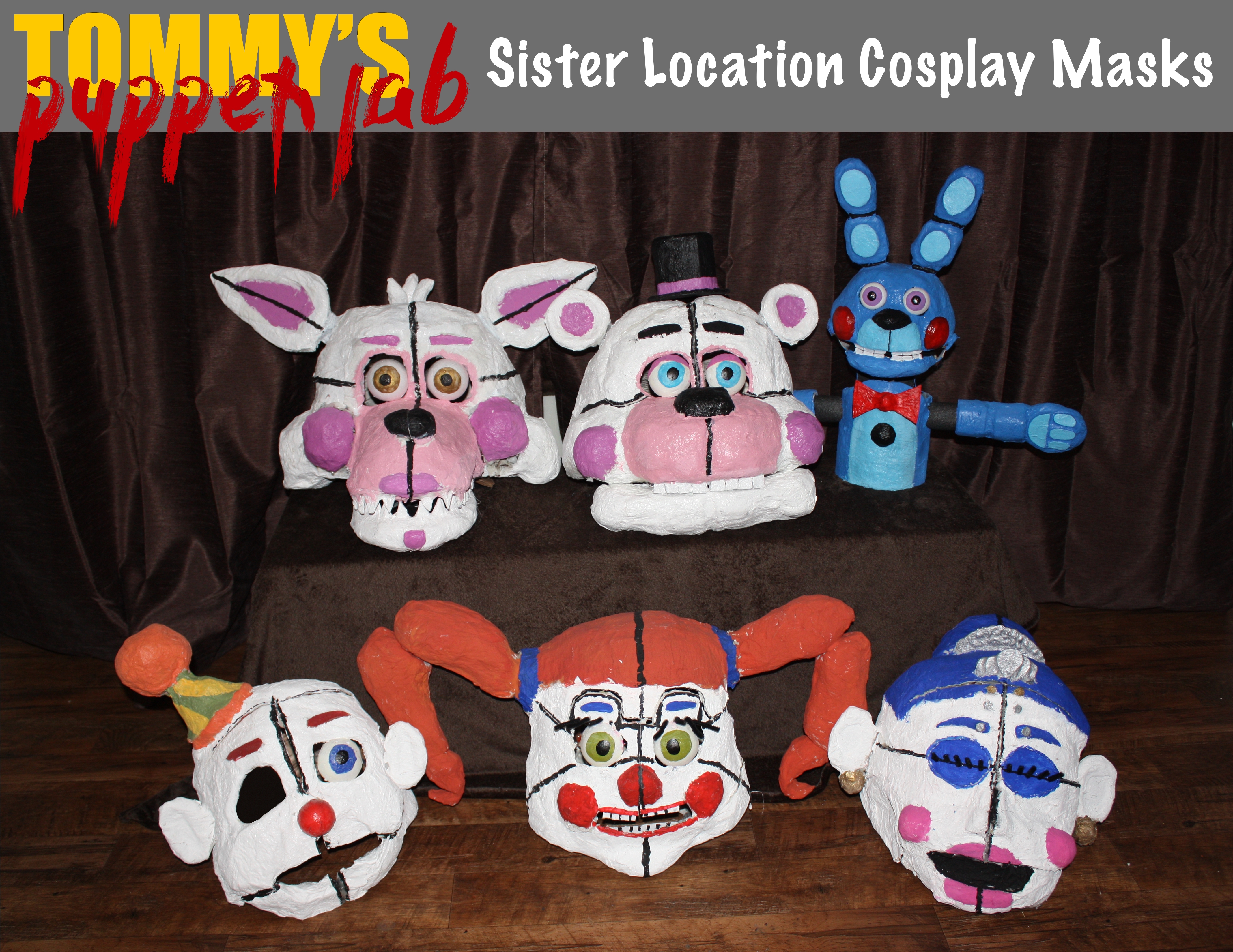 Puppets and Cosplay Masks – Tommy's Puppet Lab