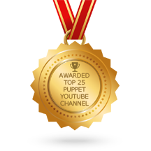 top 25 puppet youtube channels award - Tommy's Puppet Lab